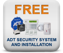 FREE ADT security system equipment & FREE ADT installation